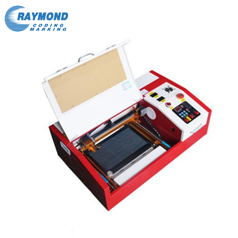 Desktop mini laser engraving cutting machine 3020 for fiber wood glass acrylic plastic