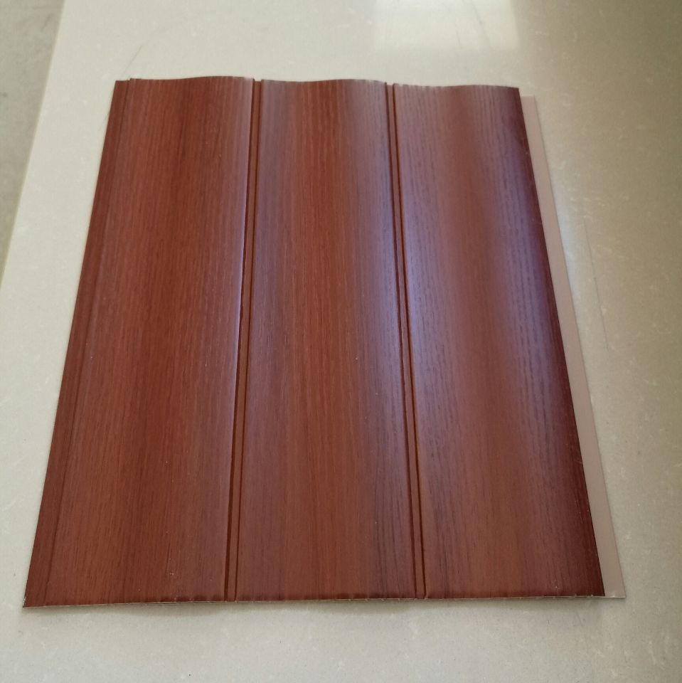 Wave Type High Quality Lamination Wall Panels PVC