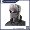 Winter fur hat, funny winter ski hat/fleece balaclava ski mask hat