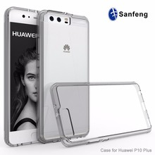 Wholesale clear phone back case for Huawei P10 plus/Huawei VKY-L29