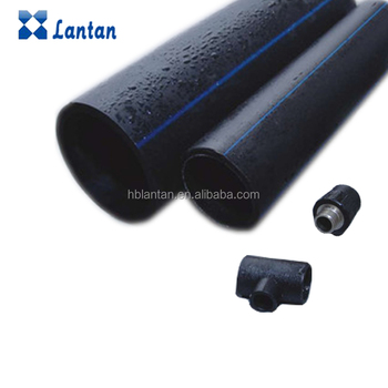 Factory sales ISO4427 Standard HDPE Pipe fitting for Water Supply