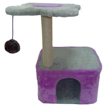 Promotional best quality eco friendly cat tree scratcher