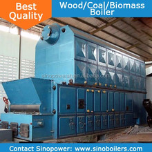 1-35TPH 7-54bars Water Tube Type Exported Europe High Quality wood boiler manufacturers