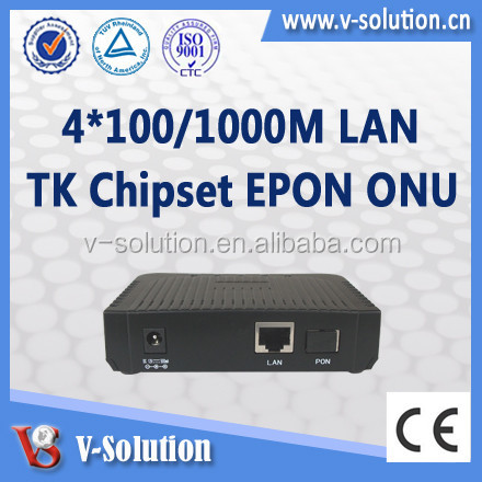 Fully Compatible with ZTE/Huawei/Fiberhome/BDCOM OLT 1GE GEPON ONU