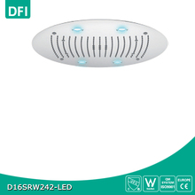 New style led rotating shower head