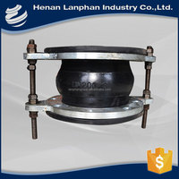 flexible pipe coupling vulcanized rubber expansion joints