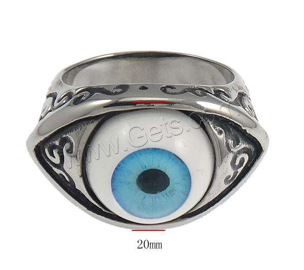 Stainless Steel Horse Eye Ring Size 13 For Women 842332