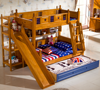 Bunk Bed With Slide Kids Bedroom