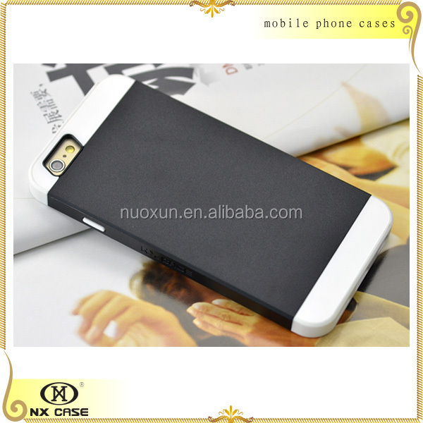 Candy 2015 hot sell 3 in 1 mobile phone case for iPhone 6s