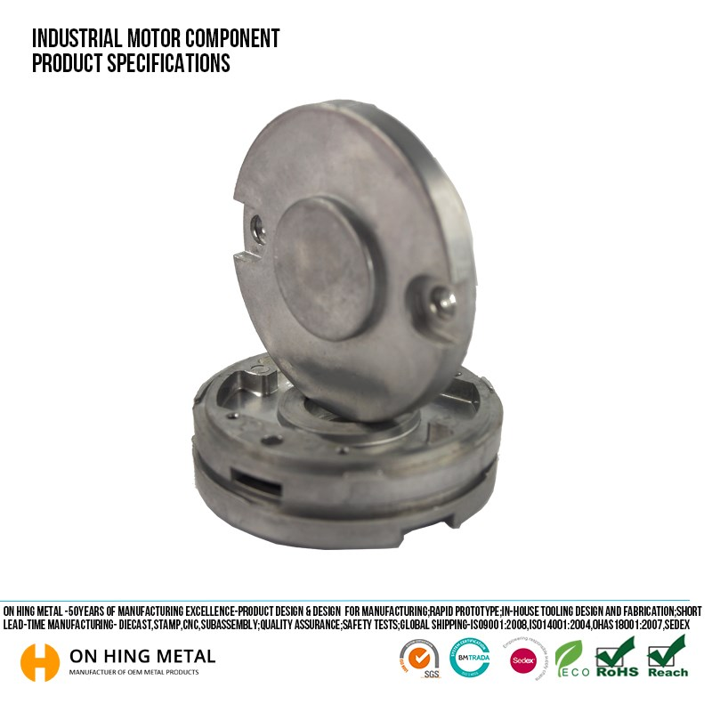 China used casting CNC machining electric spare parts car