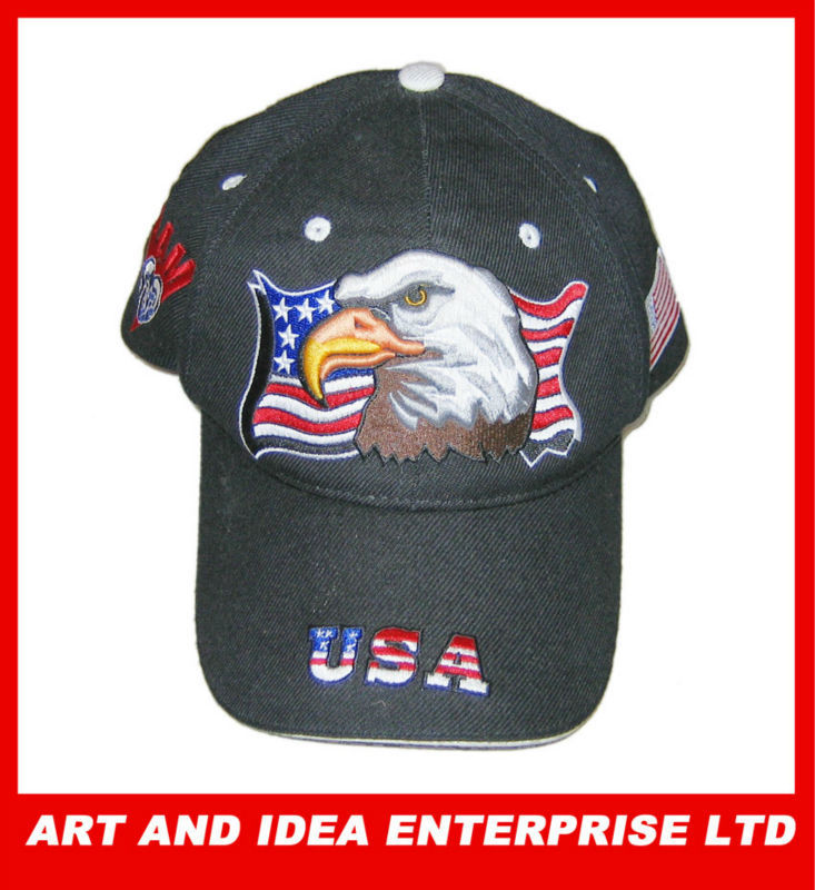 American flag hats cheap imported from china