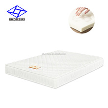 Rolled up two side mattress in a box with pocket spring and memory foam B04