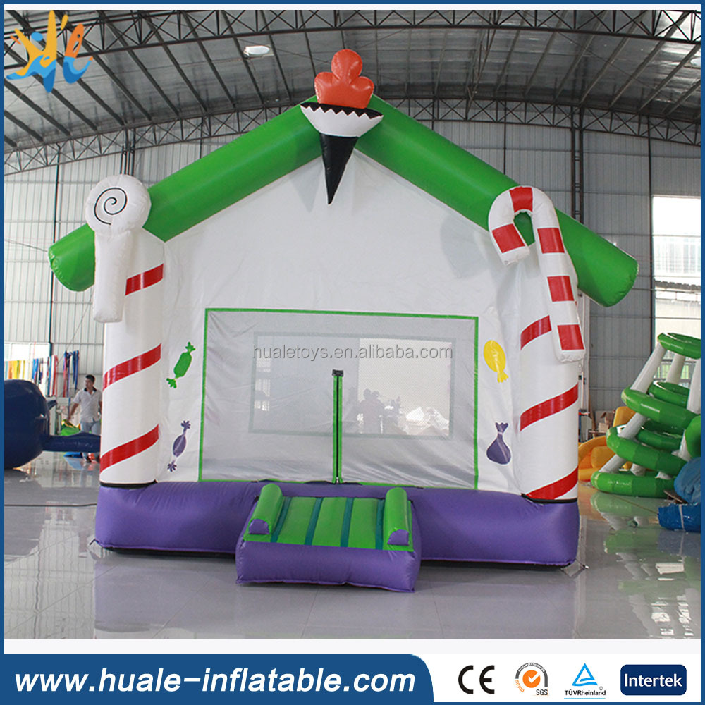 Inflatable Christmas products, inflatable Santas House