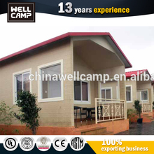 Simple Light Steel Structure Homes Prefabricated Houses Villa Energy Efficient
