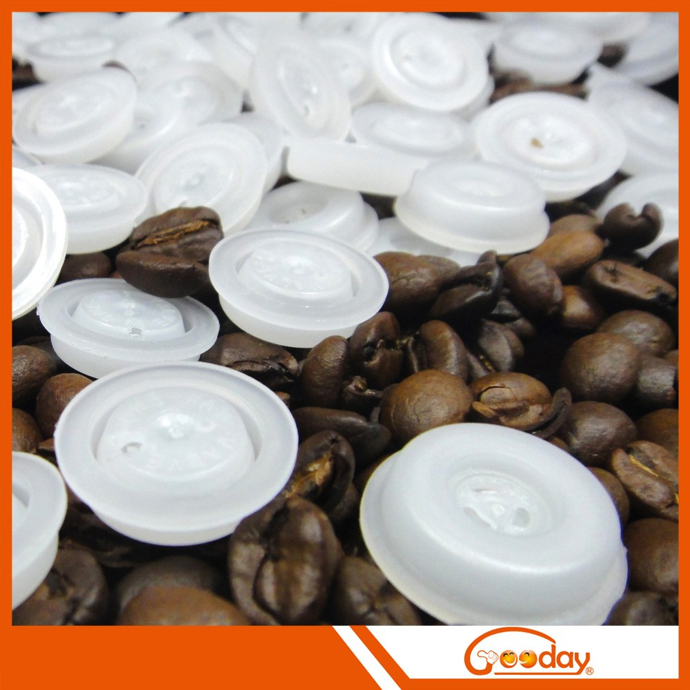 Good exhaut coffee bag with valve Manufacturers one way degassing valve