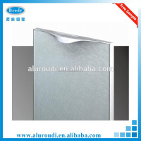 Vinyl wrapped aluminium kitchen cabinet doors manufacturers