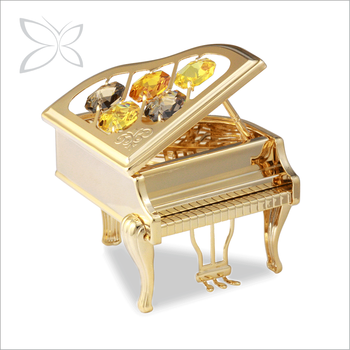 Newest Gold Plated Metal Show Pieces For Home Decoration