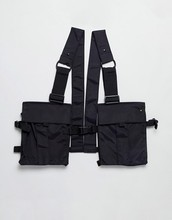 Fashion Outdoor Nylon Tactical Adjustable harness <strong>bag</strong> Chest <strong>Bag</strong> in Back