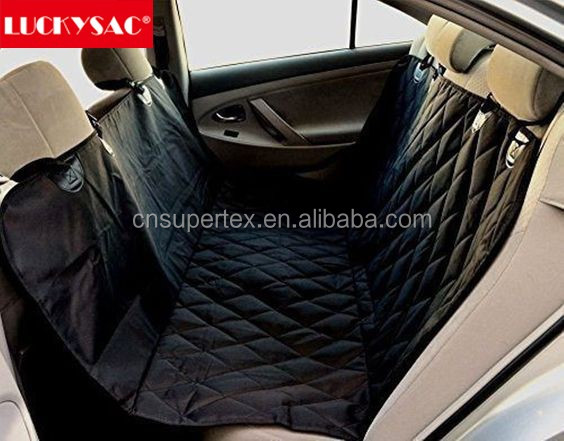 LUCKSAC Universal Rear Pet Seat Cover Waterproof Anti Mud Car Styling Care Interior Accessories Automotive dog car seat cover