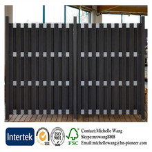 Easy install top quality Europe Popular small wooden fence garden, exterior wood sliding doors, lowes exterior wood doors