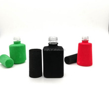 New Arrival Brushy Empty Custom Made Uv Nail Polish Gel Glass Bottles In Stock For Cosmetic Packaging