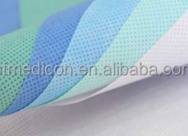 SMS sterilization wrap medical bed sheet