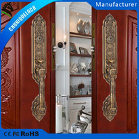 XF8046#wooden door of zinc alloy security door lock set and safe mortise lock set