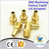 Factory Customized Cnc Brass Fitting For