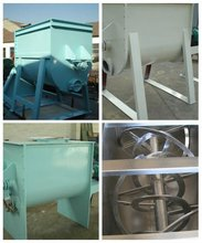 double screw horizontal ribbon mixer