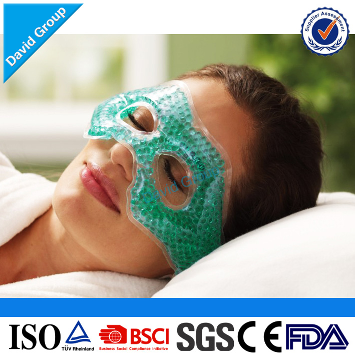 BSCI Factory 16P Eco-friendly Reusable Gel Eye Mask