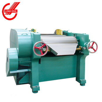 High speed high viscosity pigment or ink three roller mill