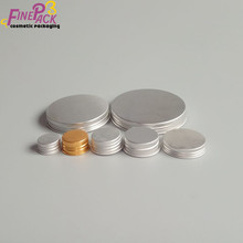 Aluminum Material Jar Lids Or Bottle Use Metal Screw Cap