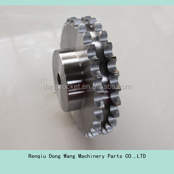 duplex chain wheel sprocket