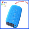 Waterproof Car Silicone Remote Key Shell with Multi-Color for Hyundai