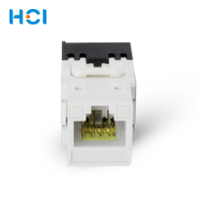 Hot Sale Office Network Connecting Female RJ45 Cat 6A Keystone