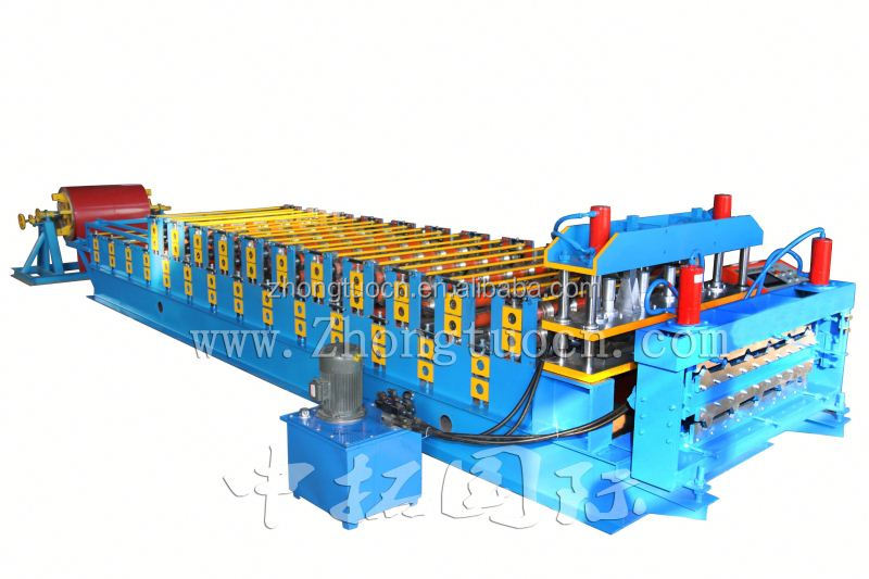 double layer decker sheets roll forming machine