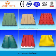 China supplier prefab homes/containers materials of corrugated steel sheets manufacturing made in China