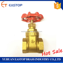 "hot sale swing 1"" 2"" 3"" 4"" inch manual bronze copper brass gate valve price for water engineering with drain manufacture"