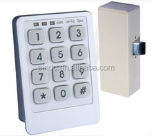 electronic password cabinet lock