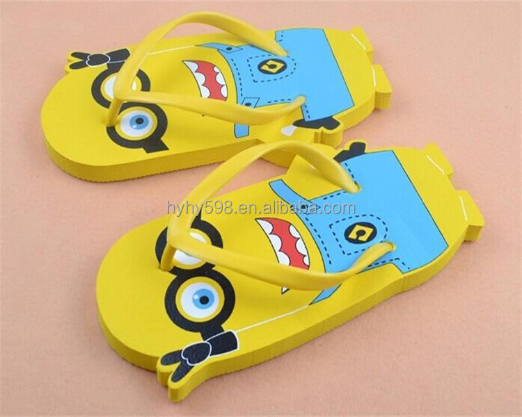 #14070402 custom cute cartoon eva slipper shoes for kids