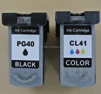 2 pieces PG 40/ CL 41 Compatible Ink Cartridge for Canon PIXMA MP160 MP140 MP450 MX300 MX310 IP1600 IP1900 Printer