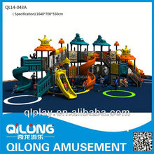 LIBENPLAY Children High Quality Outdoor Gymnastic Playground in House Roof
