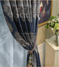 Custom made luxury jacquard curtain drapes for window