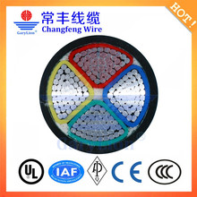 0.6/1kv CU/XLPE/SWA/PVC 4 core armoured power cable 120mm
