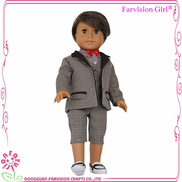 New 2017 Boy doll With Wigs OEM 18 inch farvision dolls