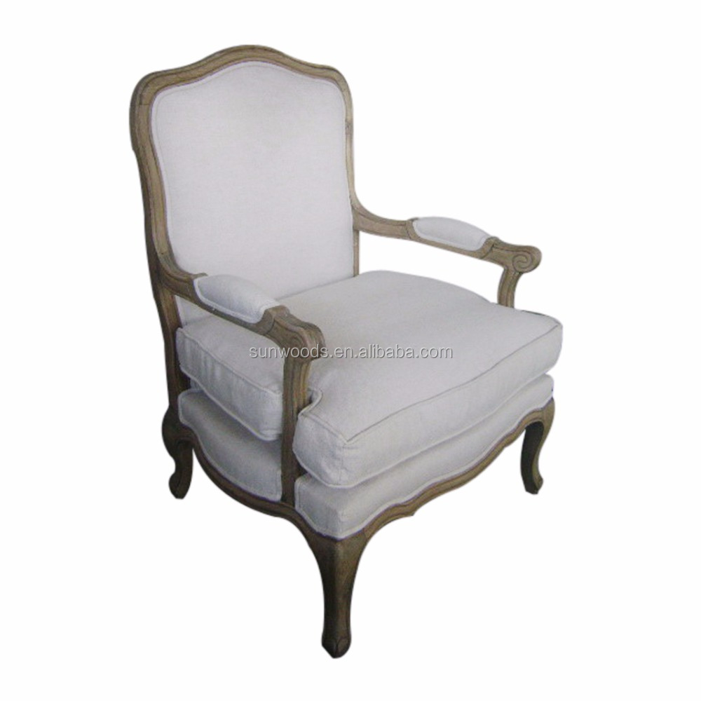 Top Quality famous french louis dining standard single sofa size living room chairs furniture