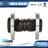 Double sphere Rubber Expansion Joint PN10/16/25