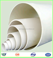 factory sell 8 inch pvc drainage pipe,square pvc drain pipe