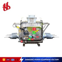 ZW20-12/T630-25 Type automatic switch 33kv vacuum circuit breaker for overload current protection