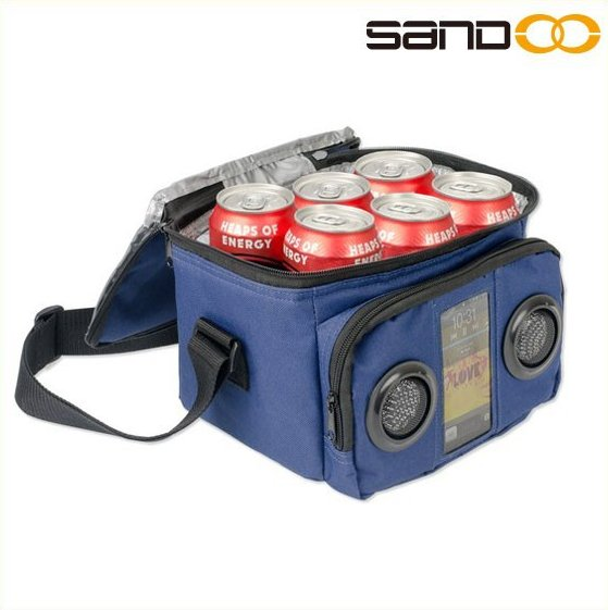 Travel picnic cooler bag speakers, all kinds of cooler lunch bag with speakers